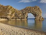 Durdle Door Arch  Jurassic Coast World Heritage Site  Dorset  England