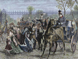 French Liberal Revolution (February 1848) the Mob Assaulted on the Tuileries on February 24