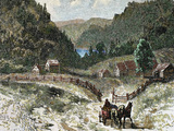 Canadian Landscape in the 18th Century