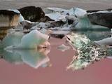 Glacier Lagoon at Sunrise  Iceland