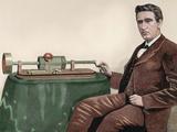 Thomas Alva Edison (1847-1931) American Inventor