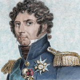 French Soldier Named Jean Baptiste Bernadotte  Afterwards King of Sweden and Norway (1818-1844)