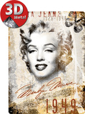 Marilyn Monroe Portrait-Collage
