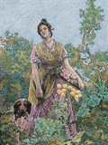 Valencia Gardener by Dieguez  1867