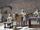 Workshop Handmade Candles of the Eighteenth Century in the 'Encyclopedie Diderot Et D'Alembert'