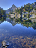 Chair Peak  Gem Lake  Alpine Lakes Wilderness  Washington  Usa