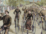 American League Cycles in Pennsylvania Avenue Mid May 1884  Washington  Usa