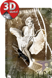 Marilyn Monroe Luftschacht-Collage