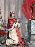 Saint Pius V (1504-1572) Italian Pope  Named Antonio Ghislieri Elected in 1566 by Capuz