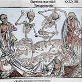 The Dance of Death (1493) by Michael Wolgemut  from the Liber Chronicarum by Hartmann Schedel