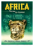 Pan American: Africa by Clipper  c1950