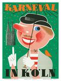 Karneval In Koln: Germany c1950
