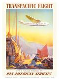 Pan American: Transpacific Flight  c1940s