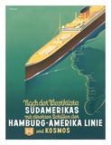 Hamburg America Line: HAPAG Nach der Westküste Südamerikas  c1930s