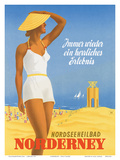 Nordseeneilbad Norderney Resort: Always a Wonderful Experience  c1949