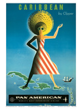 Pan American: Caribbean by Clipper  c1958