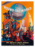 Pan American: Round the World by Clipper  c1949