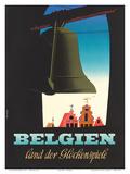 Belgien: Land der Glockenspiele - Land of Glockenspiel c1950