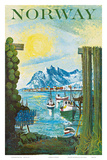 Norway: Fishing Village  c1940s