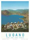 Lugano  Switzerland  c1957