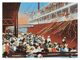Steamer Day  Honolulu  Hawaii  c1930s