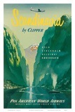 Pan American: Scandinavia by Clipper  c1951