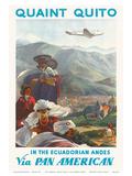 Pan American: Quaint Quito - In the Ecuadorian Andes  c1938