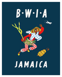 British West Indies Airways: BWIA Jamaica  c1959