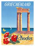 Rhodos: Griechenland  Greece c1954