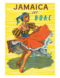 British Overseas Airways Corporation: Jamaica - Jet BOAC  c1950s