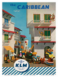 KLM Royal Dutch Airlines: The Caribbean  c1960s