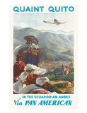 Pan American: Quaint Quito - In the Ecuadorian Andes  c1938