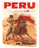 Panagra Pan American-Grace Airways: Peru  c1946