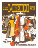 Southern Pacific Railroad: See Mexico This Year  c1935