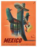 Mexico: Mariachi Cactus  c1945