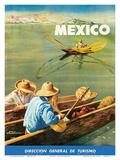 Dirección General de Turismo: Lake Chapala  Mexico c1948