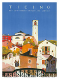 Ticino  Southern Switzerland  c1943