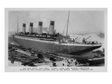 A Postcard of Titanic in Dock