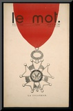 La Cicatrice  Front Cover of 'Le Mot'  Saturday 30th January 1915
