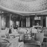 Mauretania'  the Lounge