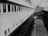 Second Class Passengers Boarding at Southampton  April 10th 1912