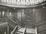First Class Staircase  RMS Titanic  04/01/1912