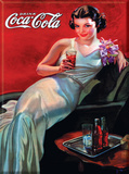 Coca Cola Woman in Evening Gown