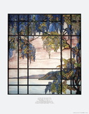 View of Oyster Bay  Tiffany Studios  New York