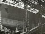 RMS Titanic Nearing Launch  05/01/1911