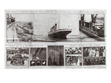 Titanic Daily Sketch Feature Thursday 18 April 1912