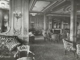 First Class Lounge  RMS Titanic  04/01/1912