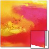 Yellow  Orange  and Pink Swirl  c 2008