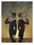 The Duel Giclée premium par Aaron Jasinski