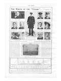 Titanic Story - The Sphere Article - 'The Wreck on the Titanic'
